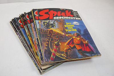 Spuk Geschichten Bastei 29 Hefte  zwischen Nr.  1 und 332  Z: 1-3 (WR3)