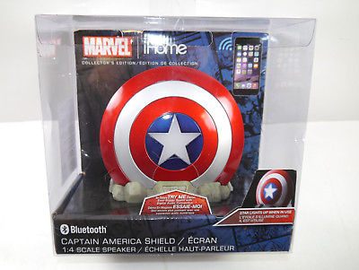 MARVEL Captain America Shield Bluetooth Wireless Lautsprecher ekids Vi-B72C NEU