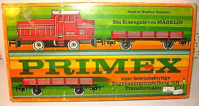PRIMEX Märklin - 2711 Güterzug Startpackung / Modelleisenbahn Gleise H0 (MF11)