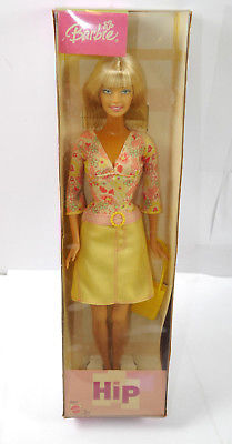 BARBIE B5812 HIP Fashion Fun Puppe MATTEL Neu (K49a)