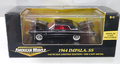 AMERICAN MUSCLE 1964 Impala SS TOY COMPANY 2001 Modellauto ERTL 1:43 (K49a)