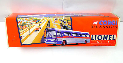 CORGI Classics - 54302 Lionel City Transit Bus GM 5301 Fishbowl Modellauto *K49a