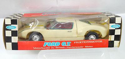 EUROPA 7145 Ford G.T. Friktionsmotor Plastik Modellauto ca.21cm - mit OVP (K31)