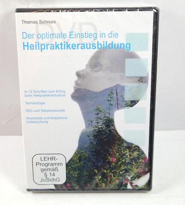 Der optimale Einstieg in die HEILPRAKTIKERAUSBILDUNG - 3 DVD's Schnura NEU (WR4)