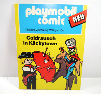PLAYMOBIL COMIC - Goldrausch in Klickytown Band SC 1977 (WR1)