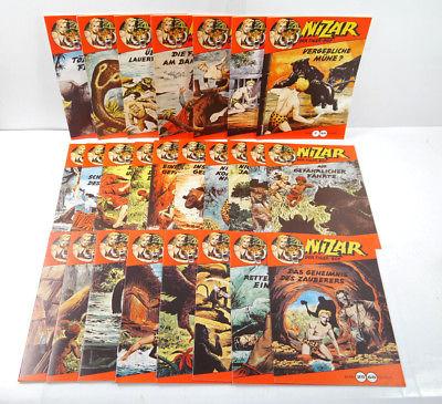 NIZAR Der Tiger-Boy - Heft 1 - 25 Comic KOMPLETT Hethke (WR9)