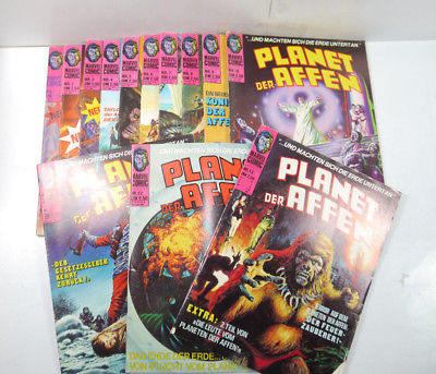 PLANET DER AFFEN Heft 1 - 13 Comic KOMPLETT Williams 1975 Marvel (WR9)