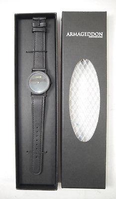 ARMAGEDDON Armbanduhr wristwatch PROMO Touchstone Pictures Echtleder (K48)