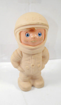 DDR Astronaut Raumfahrer Figur Gummifigur ca.15cm (K3) 0
