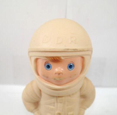 DDR Astronaut Raumfahrer Figur Gummifigur ca.15cm (K3) 1