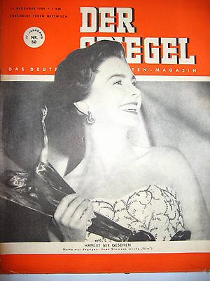 DER SPIEGEL # 50 (12/1950) Zeitschrift Heft / Jean Simmons (K21)