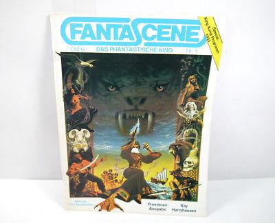 FANTASCENE Nr. 1 Heft Zeitschrift Magazin Film KING KONG Godzilla (MF5)
