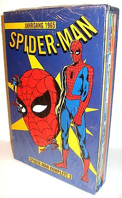 SPIDER-MAN Komplett 3 (Jahrgang 1965) 13 Hefte + Schuber PANINI Neu (L)
