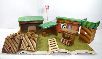 DDR VERO Fort Texas Befestigungsanlage aus Holz Spielset - mit OVP (F21)