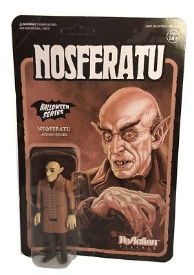 Nosferatu Halloween Series  Action Figur ca. 10 cm  ReAction  Neu (K43)