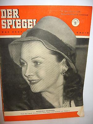 DER SPIEGEL # 20 (05/1951) Zeitschrift Heft / Vivien Leigh (K21)