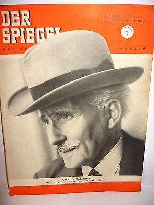 DER SPIEGEL # 19 (05/1951) Zeitschrift Heft / Dirigent Toscanini (K21)
