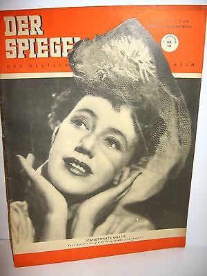 DER SPIEGEL # 18 (05/1951) Zeitschrift Heft / Ursula Herking (K21)