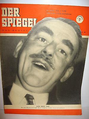 DER SPIEGEL # 17 (04/1951) Zeitschrift Heft / Dean Acheson (K21)
