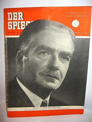DER SPIEGEL # 39 (09/1952) Zeitschrift Heft / Eden (K21)