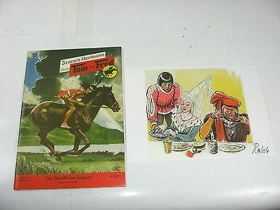 Tom und Fred Nr. 64 Sheriff von Sargent  Reprint  mit Druck signiert  Z  1+ (LR)