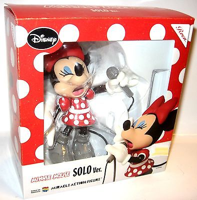 DISNEY Minnie Mouse Solo Ver. Miracle Actionfigur / Medicom Toy ca.13cm OVP (L)