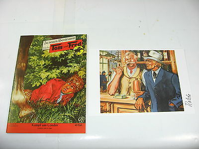 Tom und Fred Nr. 63 Kampf um Condor  Reprint  mit Druck signiert  Z  1+  (LR)