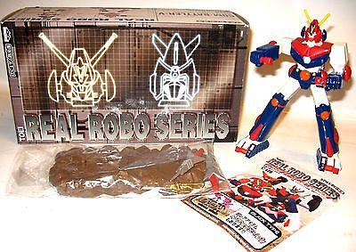 REAL ROBO SERIES Com Battler-V  Roboter Figur Banpresto ca.15cm mit OVP