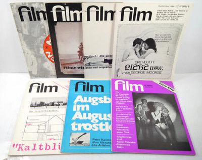 FILM 7 Hefte Jahrgang 1967 1968 1969 1988 Zeitschrift Magazin BRUNO SCHMIDT *MF4