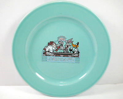 LOONEY TUNES Luncheonette Teller plate Bugs Bunny Daffy Duck 1994 (K7)