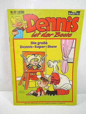 DENNIS ist der Beste - Heft 30 Comic BASTEI (WR6)