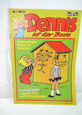 DENNIS ist der Beste - Heft 2 Comic BASTEI (WR6)