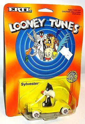 LOONEY TUNES Sylvester Spielzeugauto   Figur ERTL ca.8cm OVP (L)