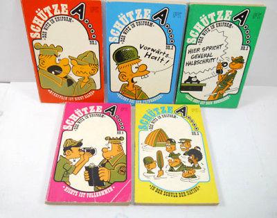 SCHÜTZE A ... Band 1 2 3 4 5 Comic Taschenbuch ILLU PRESS EDITION Walker (B5)