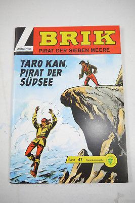 BRIK  Nr. 47 Taro Kan , Pirat der Südsee  Hethke    Z : 1   (LR )