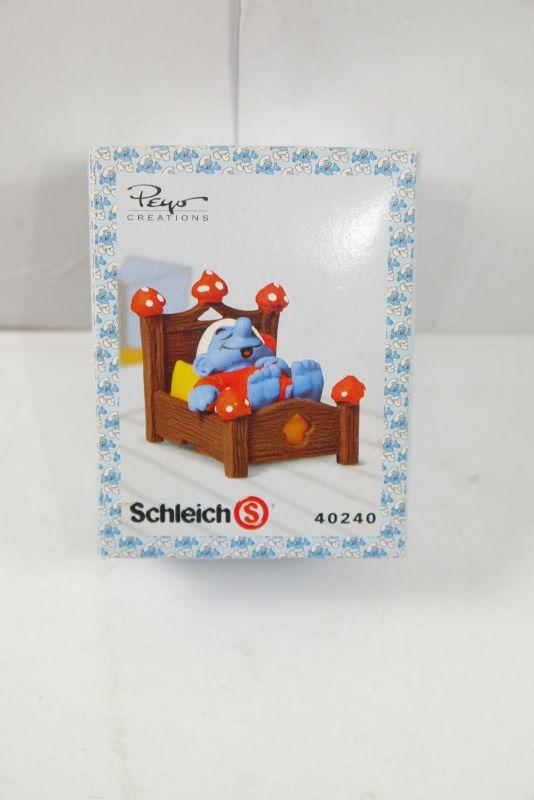 schl mpfe smurfs schlumpfinchen auf fahrrad schleich 40236 mit ovp k72 8 nr 263570678435. Black Bedroom Furniture Sets. Home Design Ideas