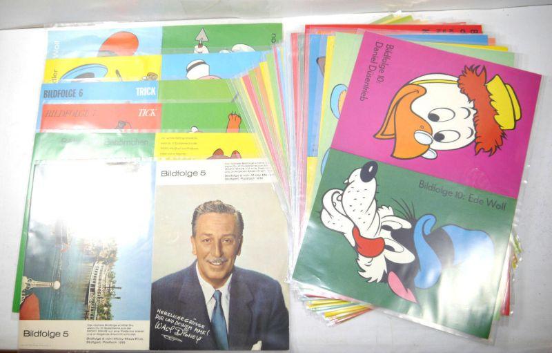 MICKY MAUS Mickey Mouse Bildfolge 34 Stk. Poster EHAPA Disney 25x36cm (MF4)