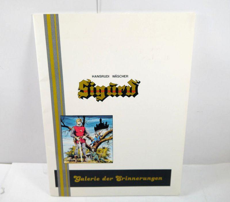 SIGURD Galerie der Erinnerungen - Mappe mit 6 Comic Drucken 27x36cm WÄSCHER *MF4