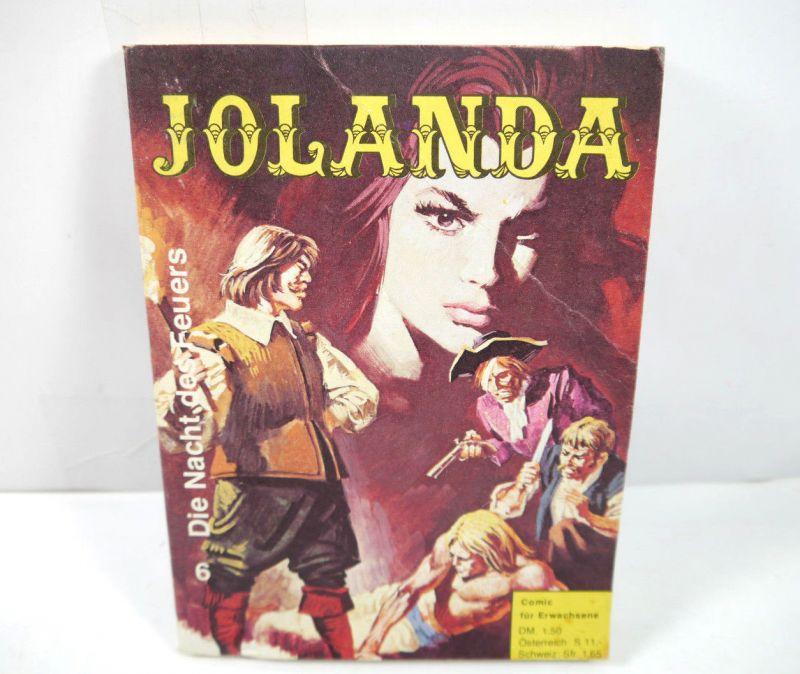 JOLANDA Band 6 - Die Nacht des Feuers Comic Taschenbuch FREIBEUTER (MF4)