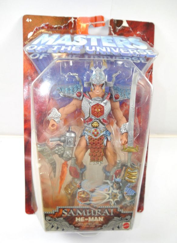 MASTERS OF THE UNIVERSE 57593 Samurai He-Man Actionfigur MATTEL mit OVP (L)