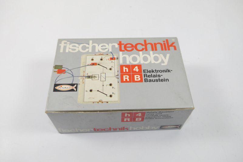 FISCHERTECHNIK  hobby h4RB ElektronikRelais Baustein Box 2308127  Neu (MF15)