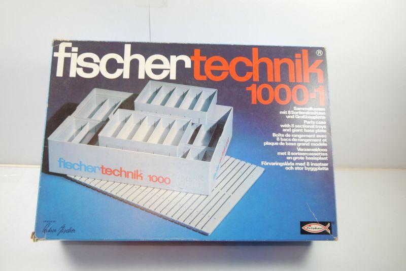 FISCHERTECHNIK  1000-1 Sammelkasten    Box 2303831  Neu (F1)