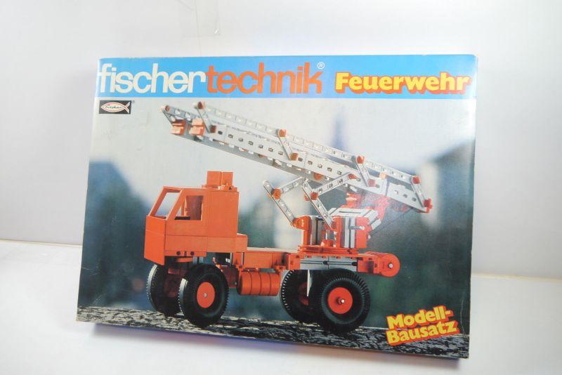 FISCHERTECHNIK   Feuerwehr   Box 2304171  Neu  OVP (F1)