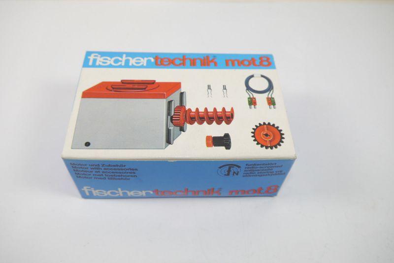 FISCHERTECHNIK mot 8 Motor + Zubehör  Box 30177 Neu  (MF15)