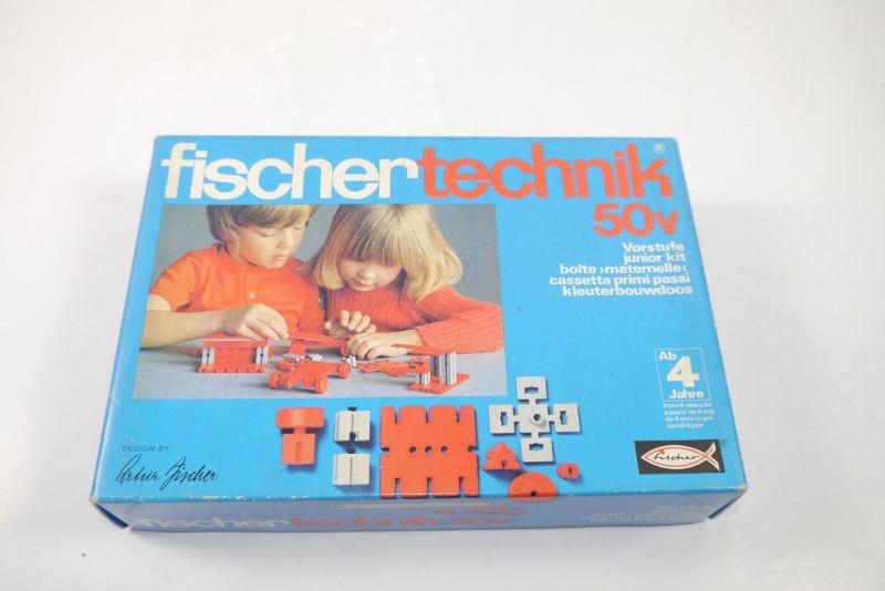 FISCHERTECHNIK 50v Vorstufe  Box 2301105 Neu  (MF15)