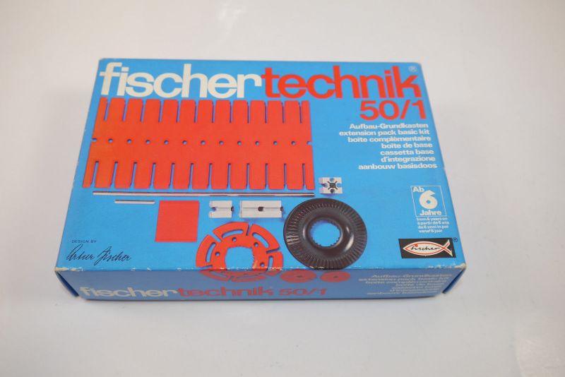 FISCHERTECHNIK 50 / 1 Aufbau - Grundkasten Box 2301405 Neu  (MF15)