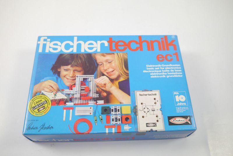 FISCHERTECHNIK ec1 Elektronik Grundkasten Box 30250  Neu  (MF15)