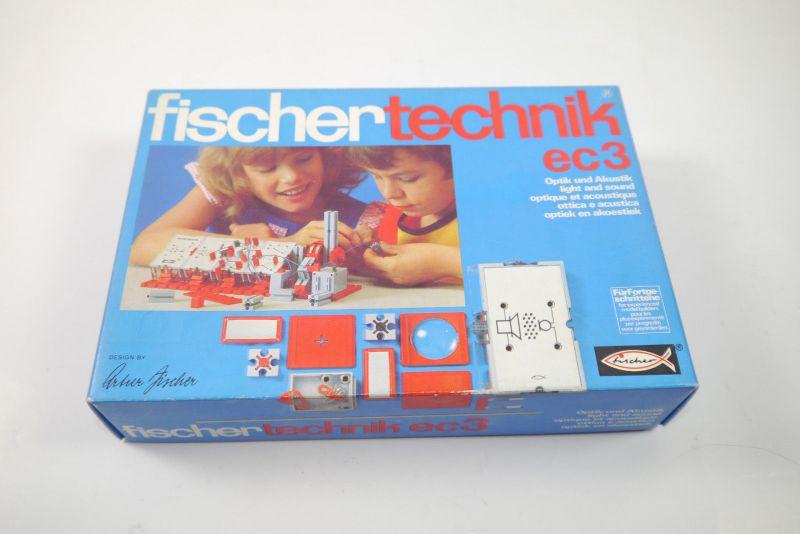 FISCHERTECHNIK ec3 Optik und Akustik  Ergänzungs Box 2302525  Neu  (MF15)