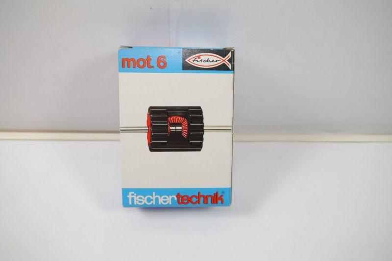 FISCHERTECHNIK  mot. 6 Ergänzungs Box 30175  Neu  (MF15)