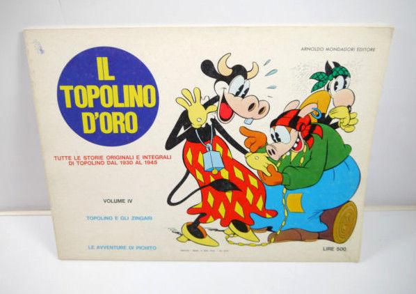 IL TOPOLINO D'ORO The golden mouse - Volume IV Comic SC 1930-1945 Disney (WR4)